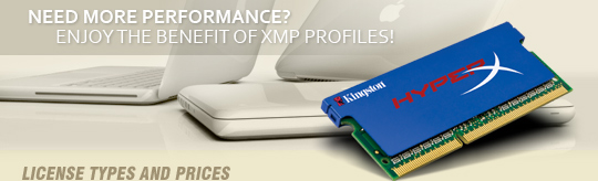 Intel XMP on MacBook Pro